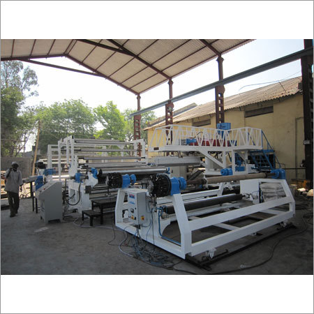 Extrusion Coating Lamination Plant For Tarpaulins