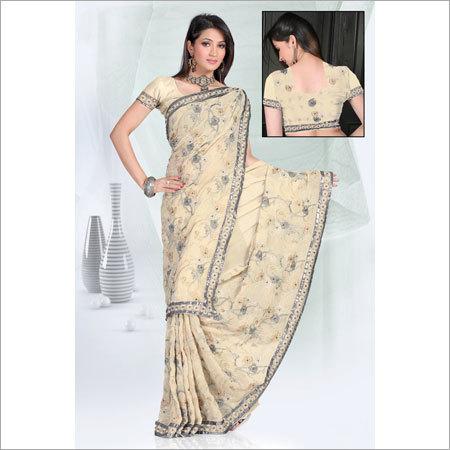 Print Saree