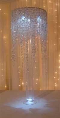 Wedding Crystal Jhoomer Center Pieces
