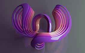 Violet Blended Color