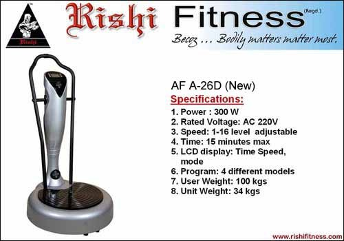 Power Plate Fitness Machine