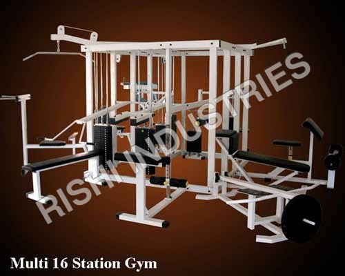 Multi 16 Station Gym
