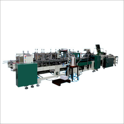 Carton Pasting Machine with Lock Bottom