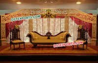 Indian Wedding Stylish Black Furniture