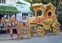 ROYAL WEDDING HORSE CARRIAGE