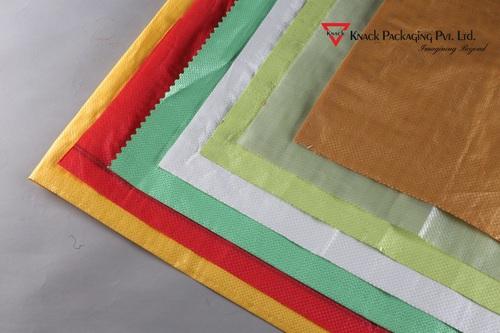 PP Woven Single Colored Fabrics