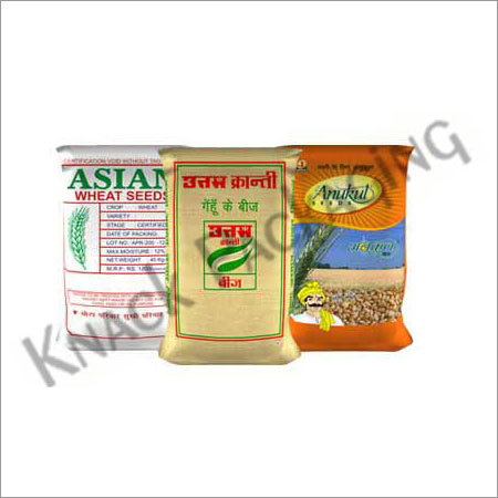 Multicolor Printed BOPP Laminated Wheat Sacks