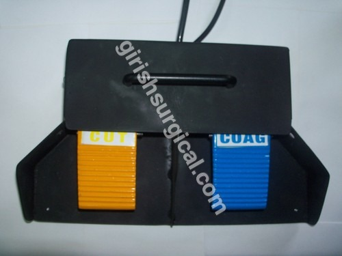 double paddle metal footswitch (big size)