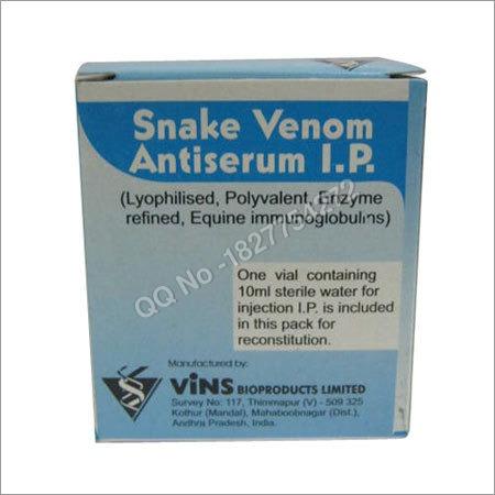 Anti Snake Venom Serum Powder (Asvs)