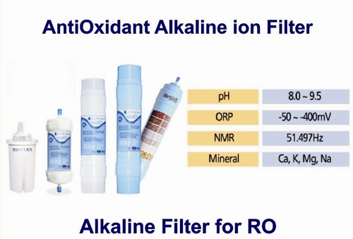 Alkaline Raising Filter