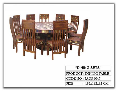 Dark Wood Dining Sets