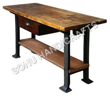 French Metal Table