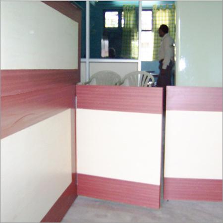 Wood Reception Furniture
