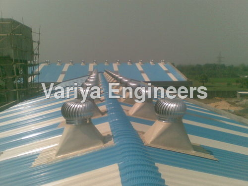 Powerless Wind Turbo Ventilator