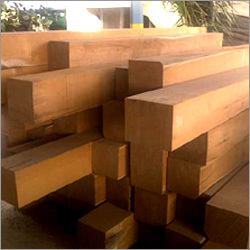 Burma Teak Big Post Wood