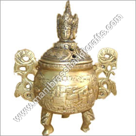 Dhoop Burner With Buddha Head