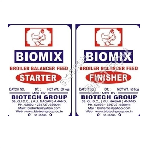 Biomix Broiler Feed
