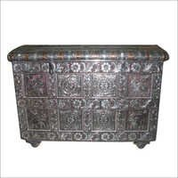 Metallic Jewellery Chest Drawer(Sandook)
