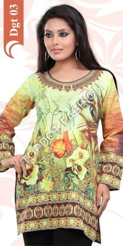 Digital Printed Kurtis Manufacturer