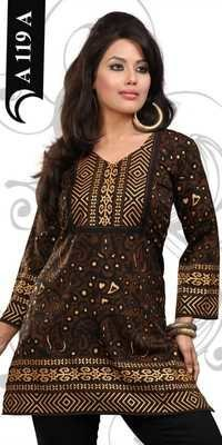 Crepe Kurtis Exporters All over india