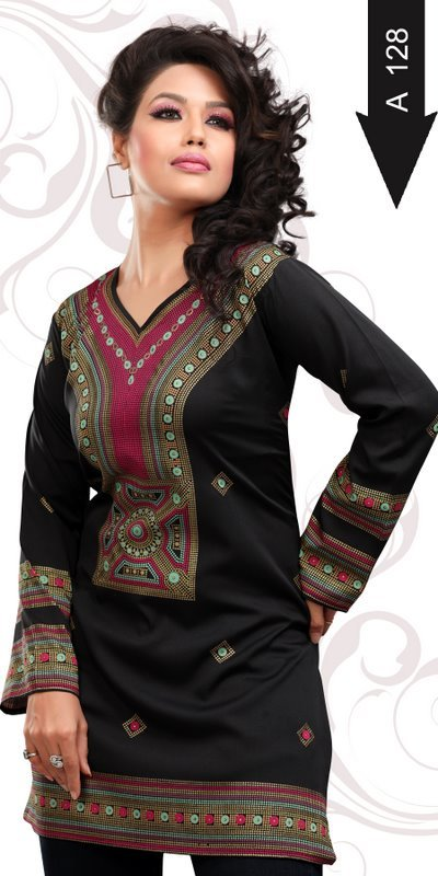 Crepe Kurtis Suppliers Overseas Country