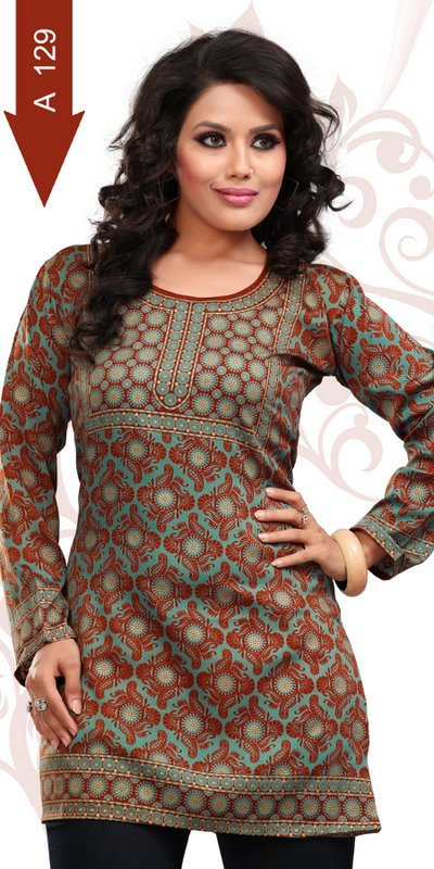 Crepe Kurtis Suppliers Overseas world