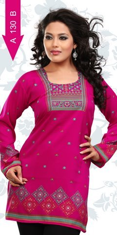 Crepe Kurtis Manufacturer Overseas world