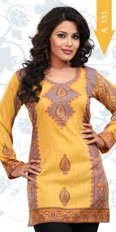 Crepe Kurtis Manufacturer Suppliers India