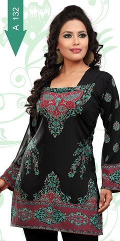 Manufacturer OF Crepe Kurtis