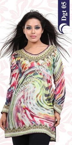 Manufacturer Exporters OF Digital Printed Kurtis