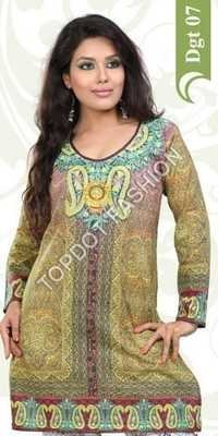Manufacturer Exporters OF Digital Print Kurtis