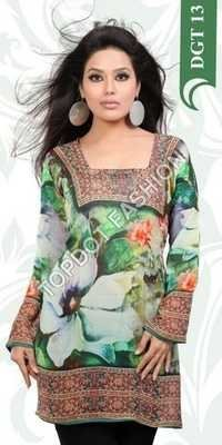 Manufacturer Exporters OF Digital Printed Kurti