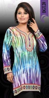 Digital Printed Kurtis Suppliers Exporters India