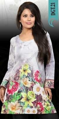 Digital Printed Kurtis Indian Manufacturer