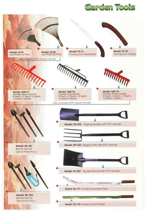 Horticulture & Gardening Tools