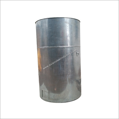 Galvanized Food Storage Trunks