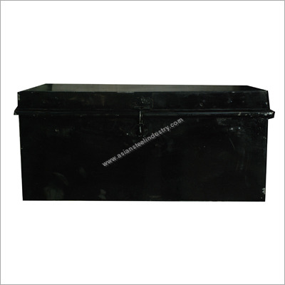 Galvanized Storage Trunk