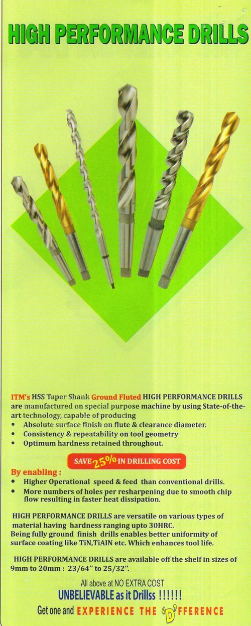High Performance Drills