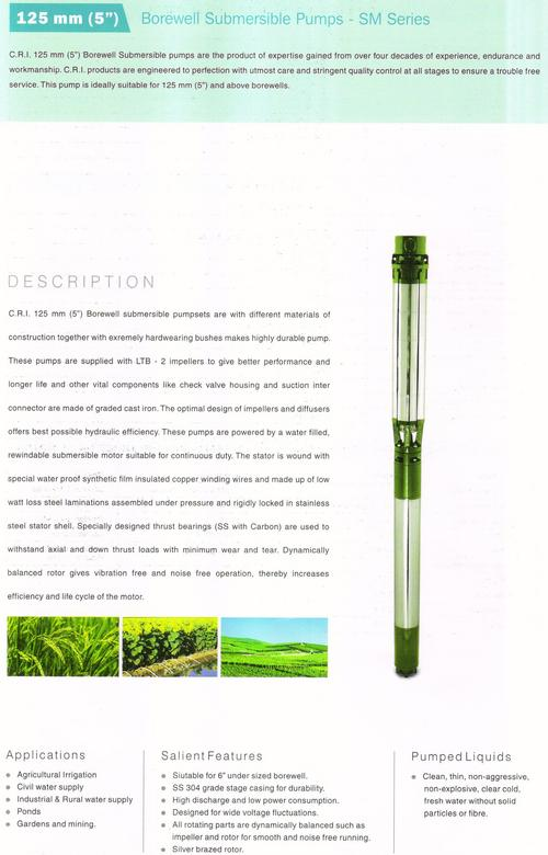 125mm Submersible Pumps