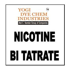 Nicotine Bi Tatrate