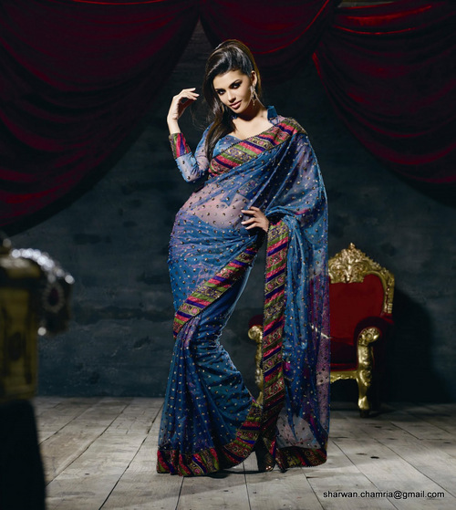 Bollywood Net Saree