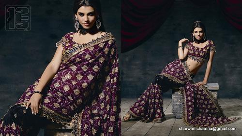 Designer Wear Saree