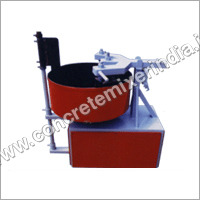 Colour Mixer Pan Type Machine