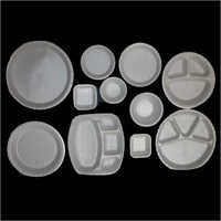 Disposable Dinnerware Compartment Plates
