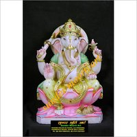 Beautiful Lord Marble Ganesh Statue