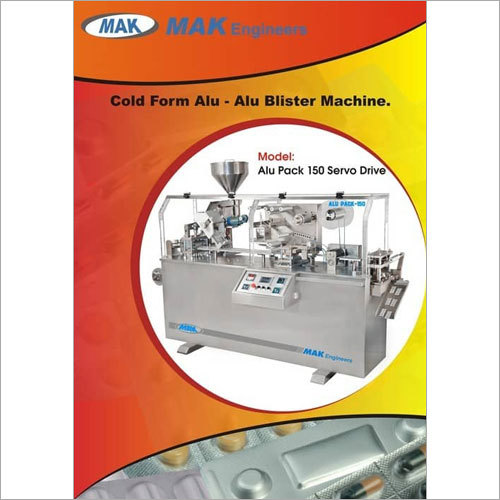Alu Alu Blister Packing Machine