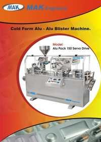 Cold Forming Alu Alu Blister Machine
