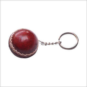 Cricket Leather ball Key Ring