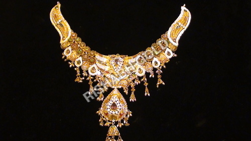 Ethnic Bridal Gold Necklace