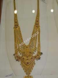 Golden Long Necklace